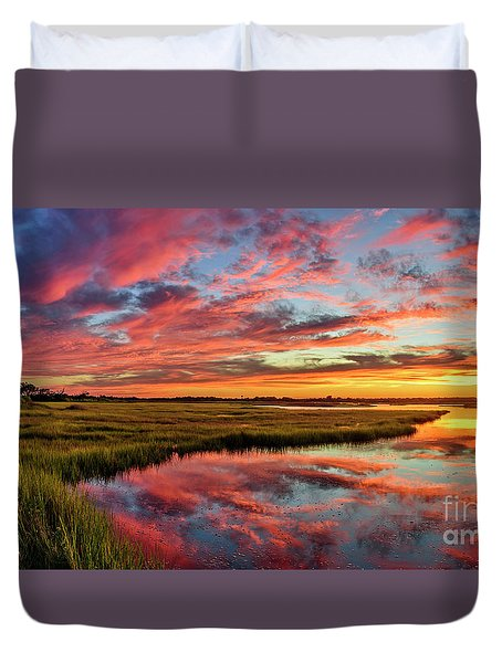 Sound Refections Duvet Cover