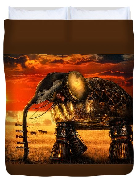 Sounds Of Cultures Duvet Cover