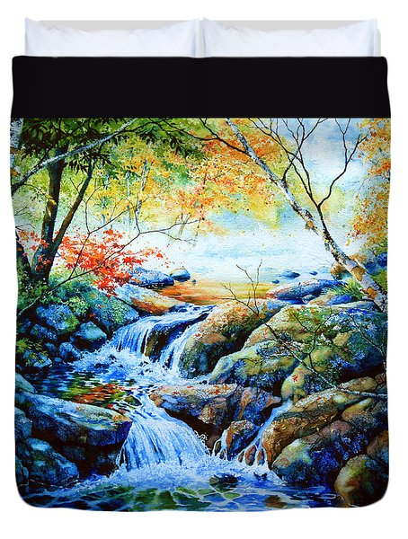 Sounds Of Silence Duvet Cover by Hanne Lore Koehler