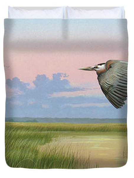Sounds Of Silence Duvet Cover