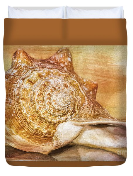 Sounds Of The Ocean Duvet Cover