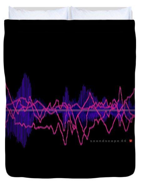 Soundscape 44 Duvet Cover