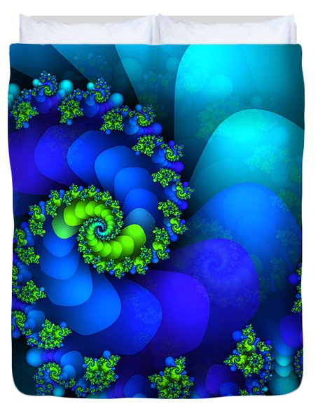 Source Of Life Duvet Cover