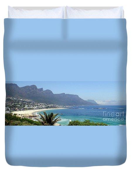 South Africa Coast Duvet Cover