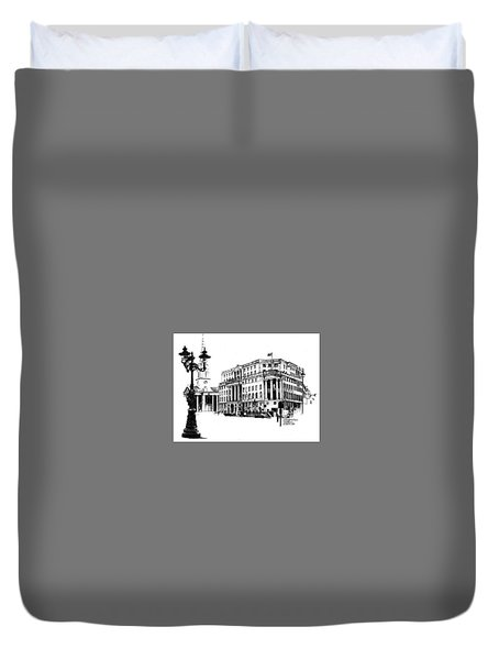 South Africa House Duvet Cover by Tim Johnson