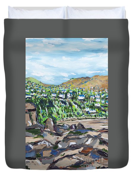 South African Coastline Part One Duvet Cover