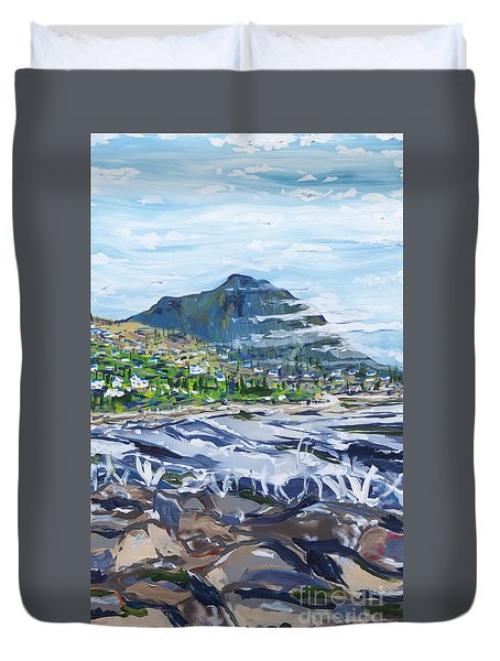 South African Coastline Part Three Duvet Cover