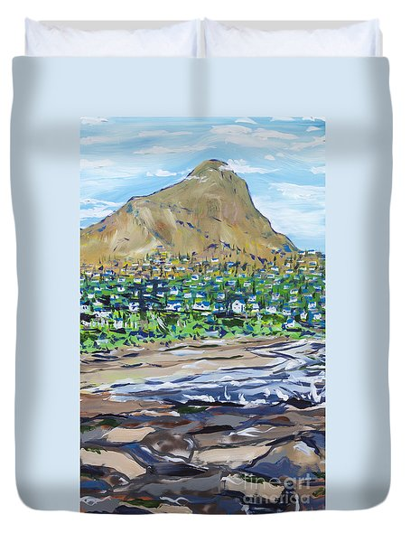South African Coastline Part Two Duvet Cover