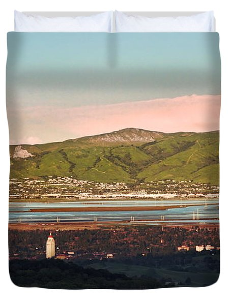 South Bay With Stanford Duvet Cover