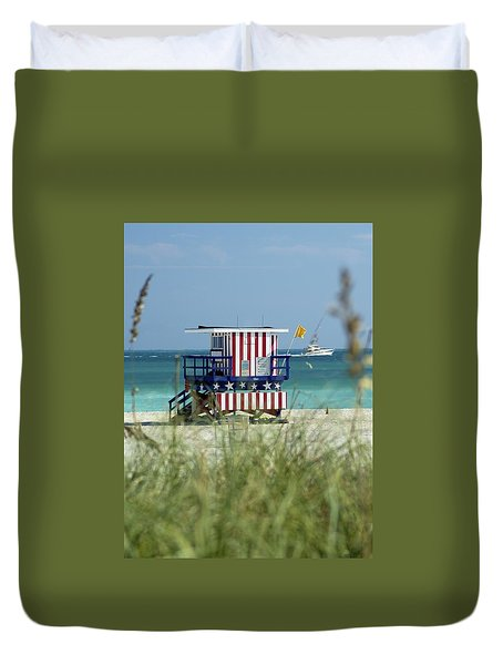 South Beach Duvet Cover