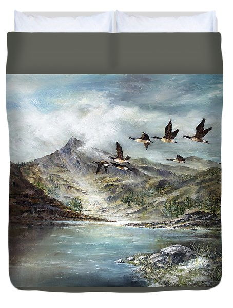 South Before Winter Duvet Cover by David Jansen