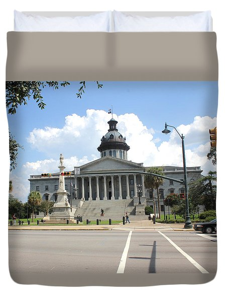 South Carolina State House 6 26 Duvet Cover