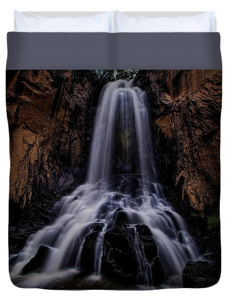 South Clear Creek Falls Duvet Cover