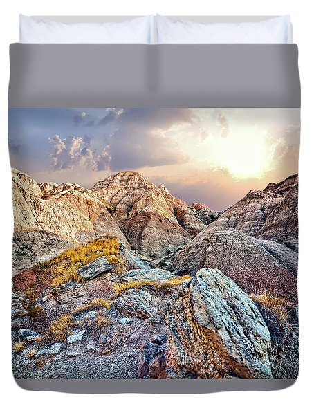 South Dakota 2 Duvet Cover