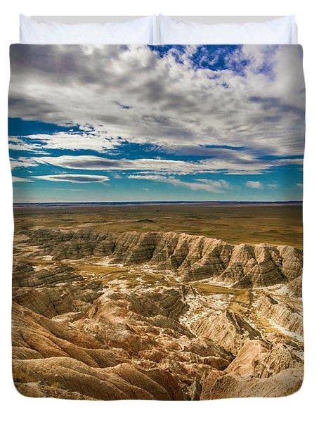 South Dakota Bad Lands.... Duvet Cover