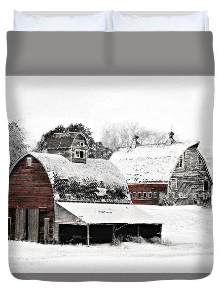 South Dakota Farm Duvet Cover