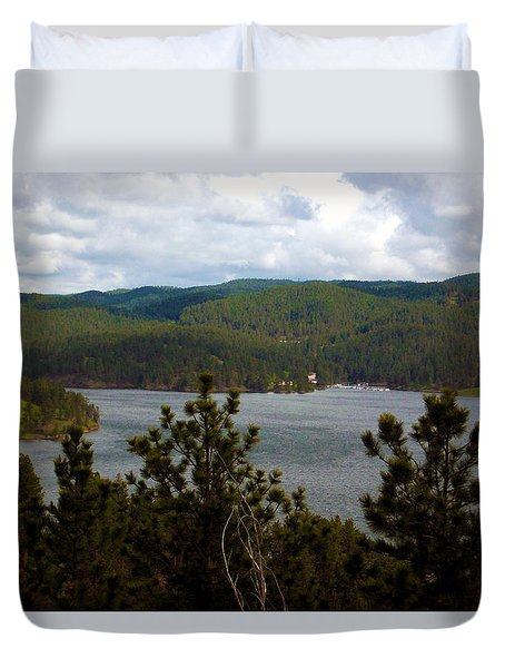 South Dakota Duvet Cover