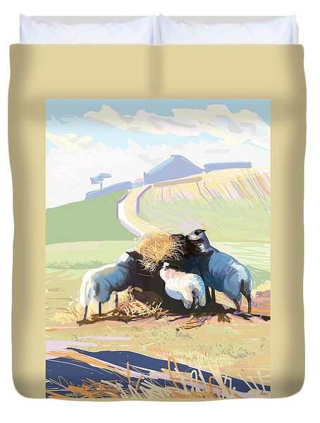 South Downs Way Duvet Cover