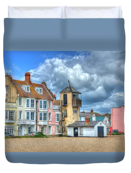 South Lookout Tower Aldeburgh Duvet Cover