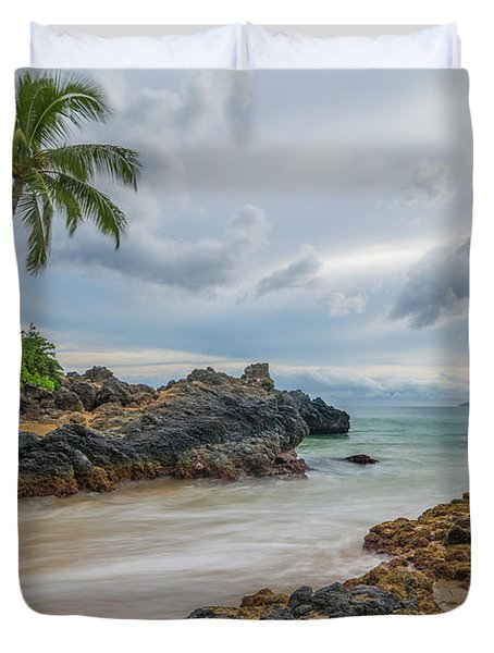 South Maui Secret Beach Duvet Cover