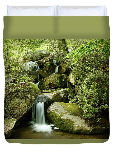 South Mountains Rest Stop Duvet Cover
