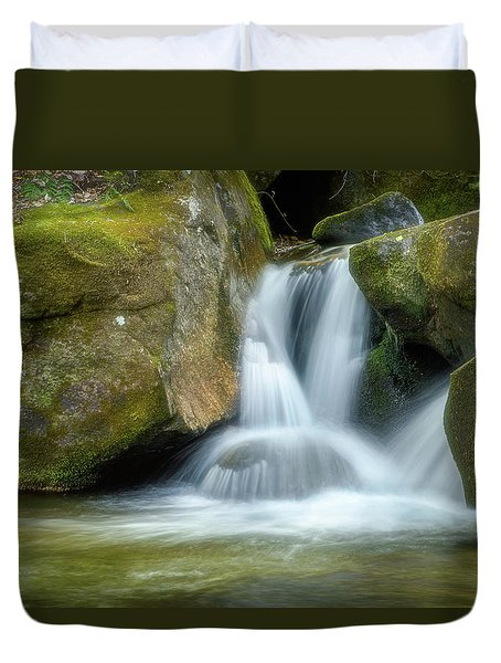 Duvet Cover featuring the photograph South Mtn State Park 2 by Joye Ardyn Durham