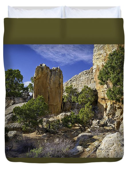 South Of Pryors 17 Duvet Cover