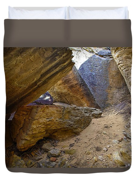 South Of Pryors 7 Duvet Cover