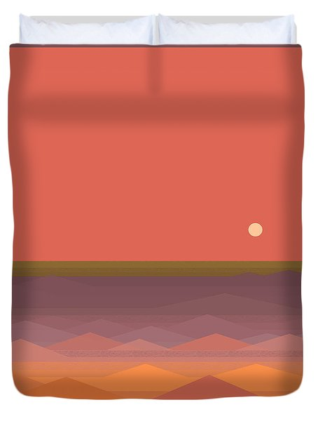 South Seas Abstract Duvet Cover