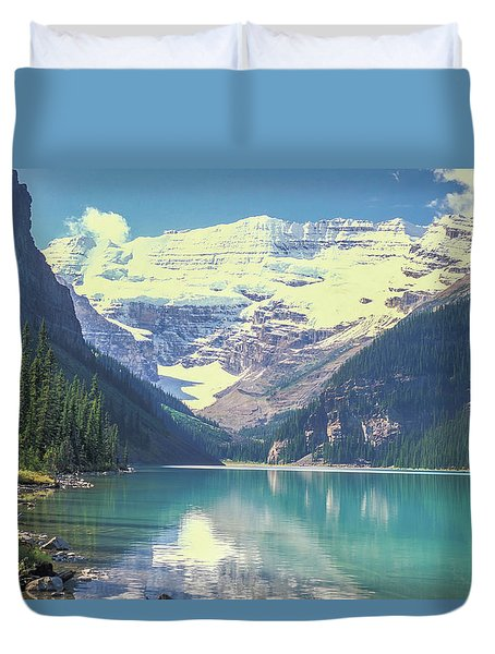 Duvet Cover featuring the photograph South Shore 2006 by Jim Dollar