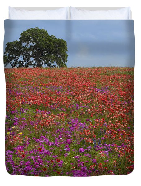 South Texas Bloom Duvet Cover