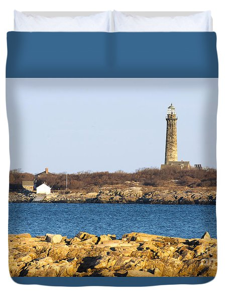 South Tower-thatcher Island Duvet Cover