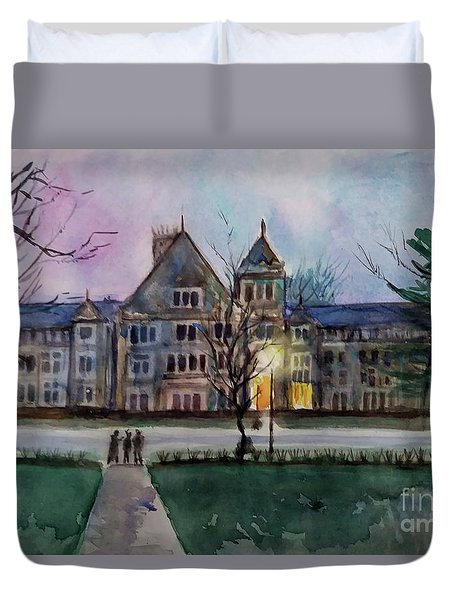 South University Avenue 2 Duvet Cover