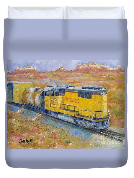 South West Union Pacific Duvet Cover