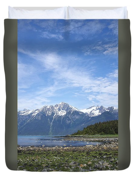 Southeast Alaskan Summer Duvet Cover