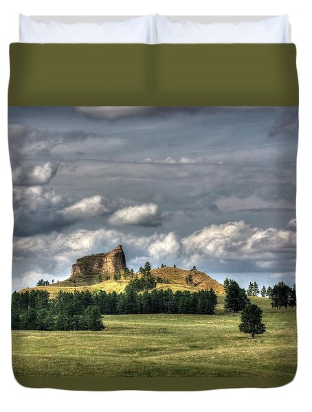 Belltower Butte Duvet Cover