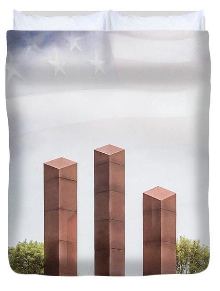 Southeastern Wisconsin Vietnam Veterans Memorial Duvet Cover