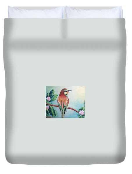Southern Bee-eater Duvet Cover