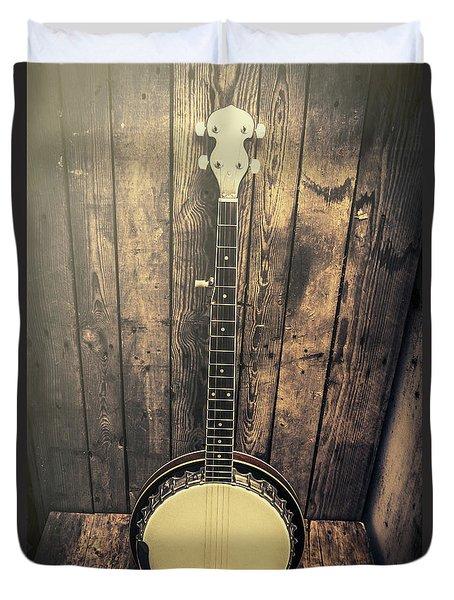 Southern Bluegrass Music Duvet Cover