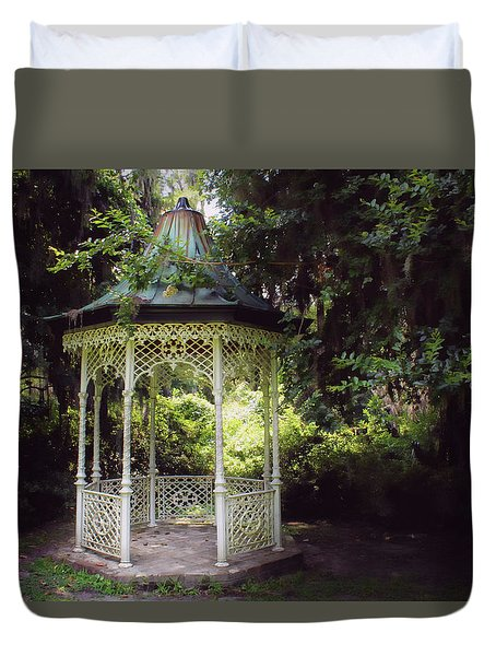 Duvet Cover featuring the photograph Southern Charm by Jessica Brawley