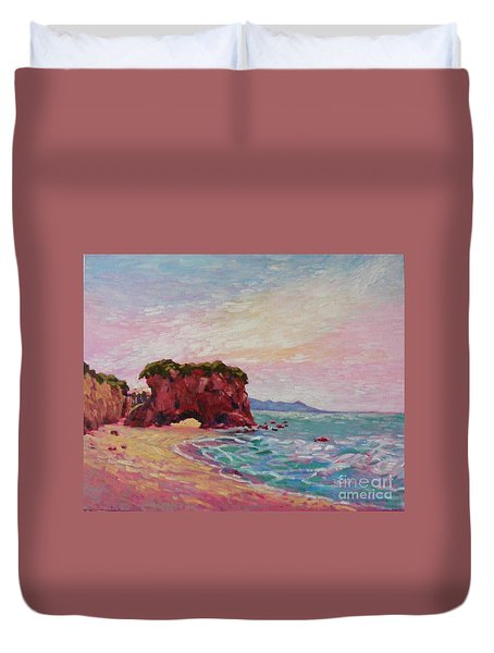 Southern Coast Duvet Cover