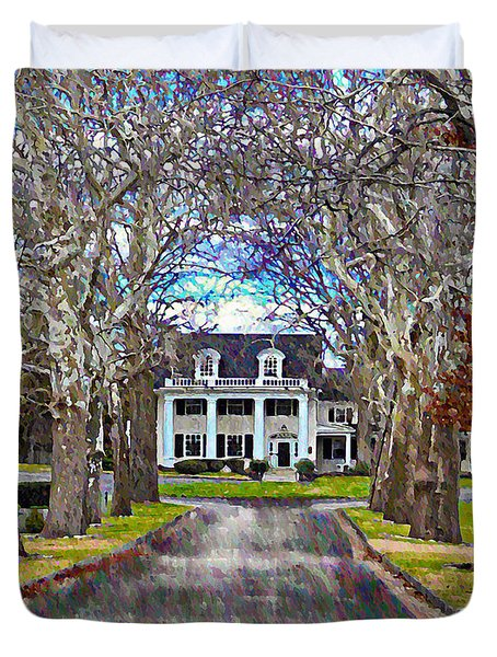 Southern Gothic Duvet Cover by Bill Cannon