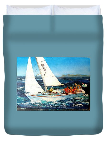 Southern Maid Duvet Cover by Tim Johnson