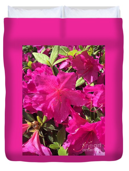 Southern Pink Duvet Cover