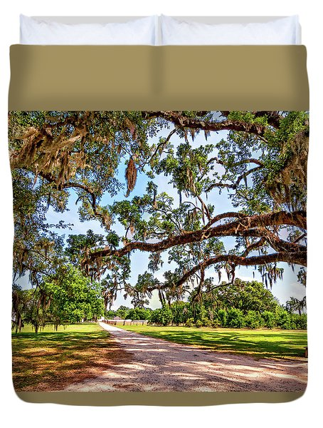 Southern Serenity Duvet Cover