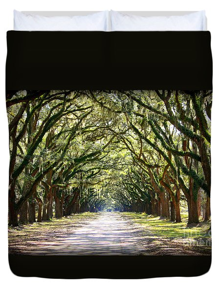 Southern Way Duvet Cover by Carol Groenen