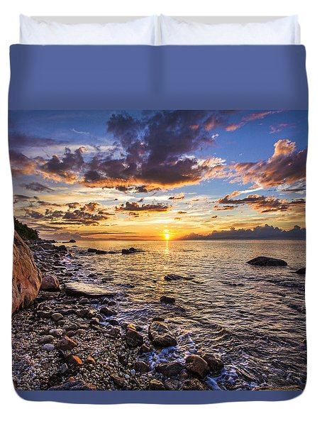 Southold Sunset Duvet Cover