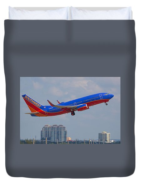 Southwest Airlines Duvet Cover