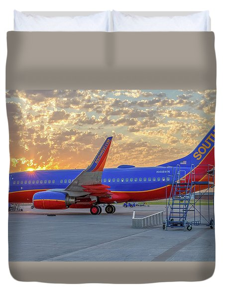 Southwest Airlines - The Winning Spirit Duvet Cover