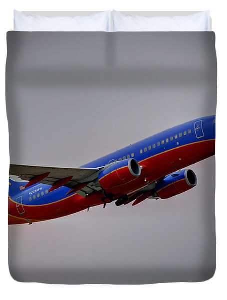 Southwest Departure Duvet Cover